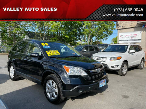 2008 Honda CR-V for sale at VALLEY AUTO SALES in Methuen MA