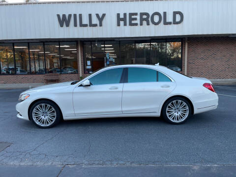 2015 Mercedes-Benz S-Class for sale at Willy Herold Automotive in Columbus GA