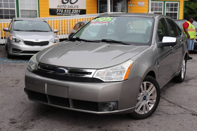 2008 Ford Focus for sale at Go Auto Sales in Gainesville GA