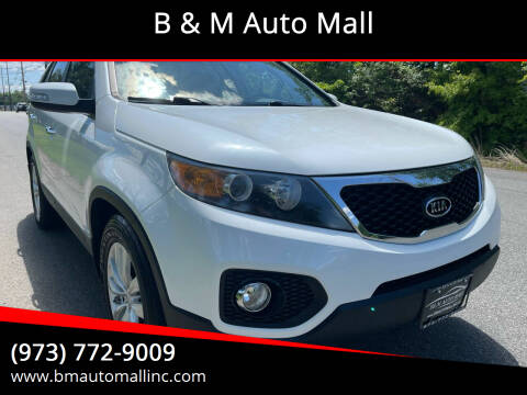 2011 Kia Sorento for sale at B & M Auto Mall in Clifton NJ