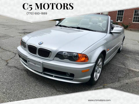 2000 BMW 3 Series for sale at C5 Motors in Marietta GA