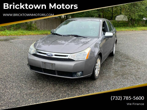 2010 Ford Focus for sale at Bricktown Motors in Brick NJ