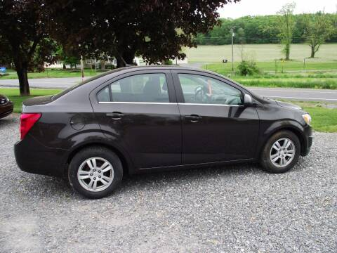 2014 Chevrolet Sonic for sale at Country Truck and Car Lot II in Richfield PA