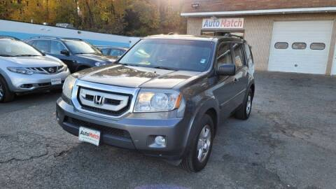 2011 Honda Pilot for sale at Auto Match in Waterbury CT