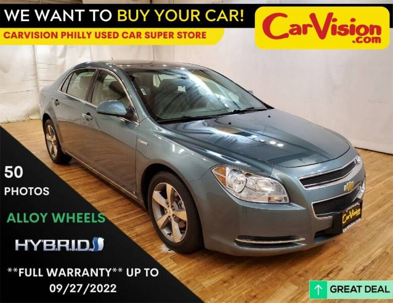 2009 Chevrolet Malibu Hybrid for sale at Car Vision Mitsubishi Norristown - Car Vision Philly Used Car SuperStore in Philadelphia PA