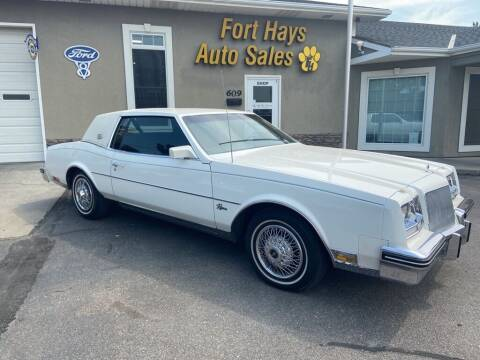 1985 Buick Riviera for sale at Fort Hays Auto Sales in Hays KS