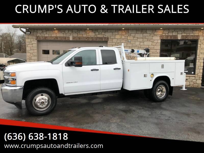 2016 Chevrolet Silverado 3500HD for sale at CRUMP'S AUTO & TRAILER SALES in Crystal City MO