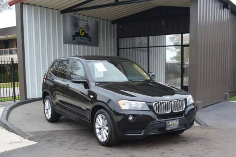 2014 BMW X3 for sale at G MOTORS in Houston TX