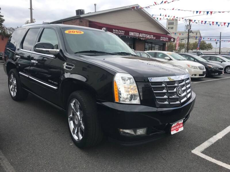 2010 Cadillac Escalade for sale at United Auto Sales of Newark in Newark NJ