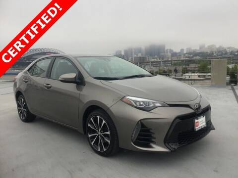 2017 Toyota Corolla for sale at Toyota of Seattle in Seattle WA
