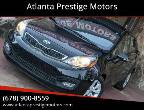 2013 Kia Rio for sale at Atlanta Prestige Motors in Decatur GA
