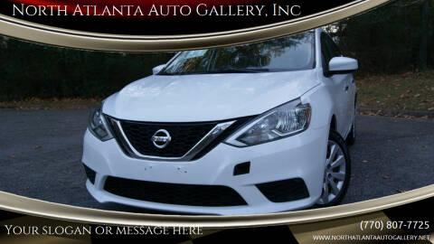 2016 Nissan Sentra for sale at North Atlanta Auto Gallery, Inc in Alpharetta GA
