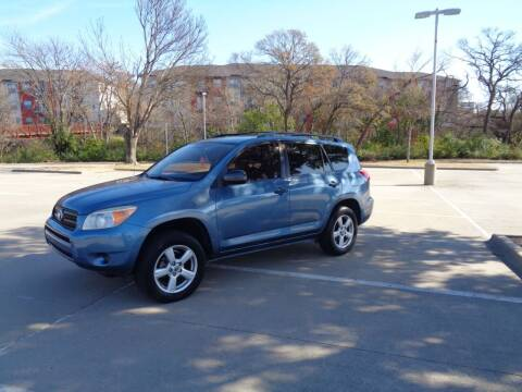 2007 Toyota RAV4 for sale at ACH AutoHaus in Dallas TX
