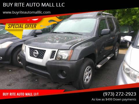 2011 Nissan Xterra for sale at BUY RITE AUTO MALL LLC in Garfield NJ