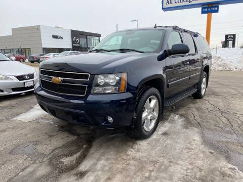 2007 Chevrolet Suburban for sale at AUTOSAVIN in Elmhurst IL