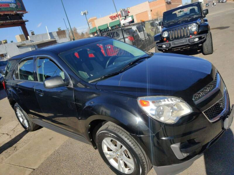 2011 Chevrolet Equinox for sale at Sanaa Auto Sales LLC in Denver CO