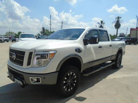 2016 Nissan Titan XD for sale at Premier Foreign Domestic Cars in Houston TX