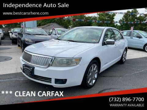 2006 Lincoln Zephyr for sale at Independence Auto Sale in Bordentown NJ