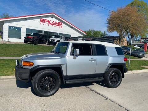 2007 Toyota FJ Cruiser for sale at Efkamp Auto Sales LLC in Des Moines IA