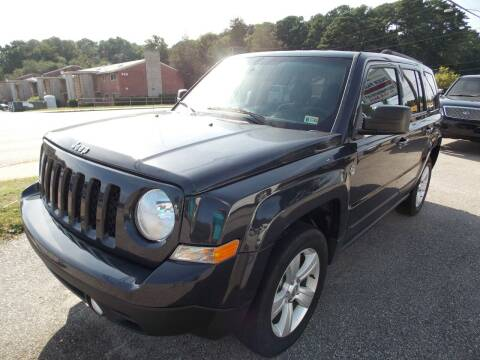 2014 Jeep Patriot for sale at Deer Park Auto Sales Corp in Newport News VA