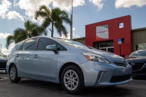 2013 Toyota Prius v for sale at Florida Auto Reserve in Medley FL