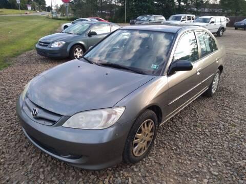 2005 Honda Civic for sale at Seneca Motors, Inc. (Seneca PA) in Seneca PA