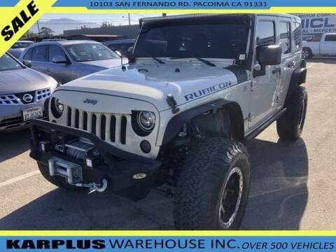 2011 Jeep Wrangler Unlimited for sale at Karplus Warehouse in Pacoima CA