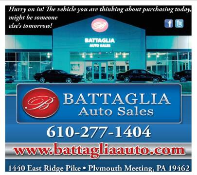 2011 Honda Odyssey for sale at Battaglia Auto Sales in Plymouth Meeting PA