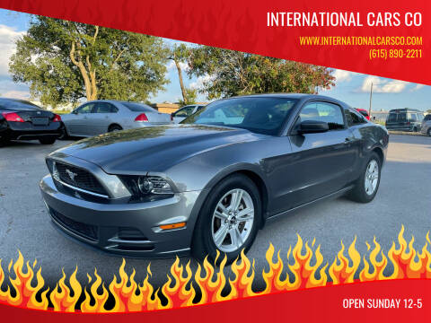 2014 Ford Mustang for sale at International Cars Co in Murfreesboro TN