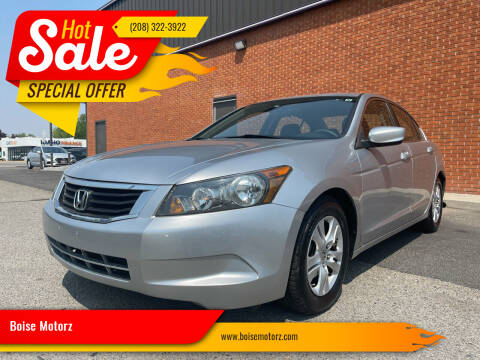 2009 Honda Accord for sale at Boise Motorz in Boise ID
