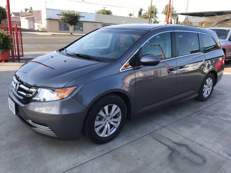 2016 Honda Odyssey for sale at Auto Emporium in Wilmington CA