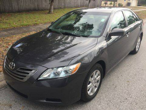 2009 Toyota Camry Hybrid for sale at Low Price Auto Sales LLC in Palm Harbor FL