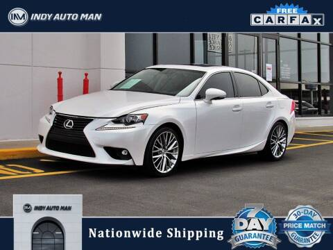 2016 Lexus IS 300 for sale at INDY AUTO MAN in Indianapolis IN