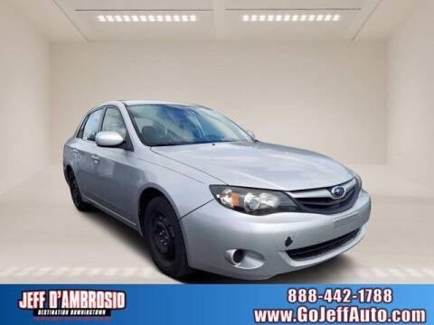 2011 Subaru Impreza for sale at Jeff D'Ambrosio Auto Group in Downingtown PA