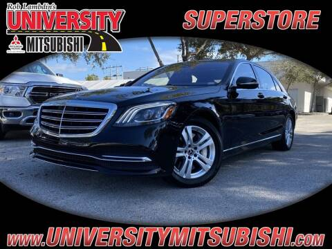 2019 Mercedes-Benz S-Class for sale at University Mitsubishi in Davie FL