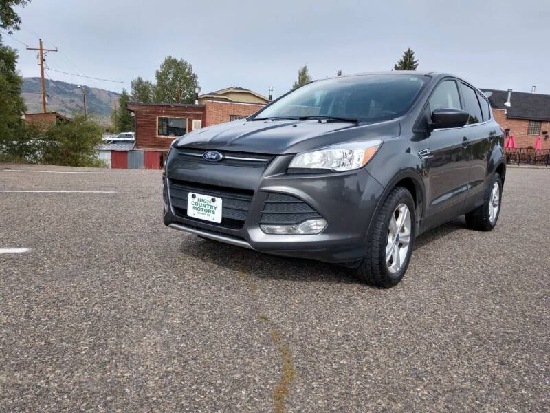2015 Ford Escape for sale at HIGH COUNTRY MOTORS in Granby CO