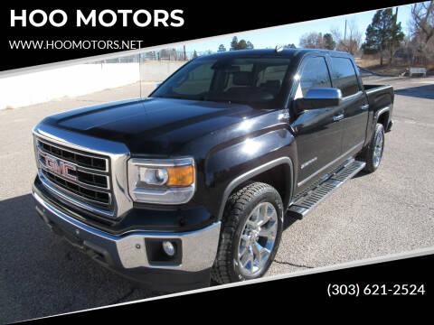 2014 GMC Sierra 1500 for sale at HOO MOTORS in Kiowa CO