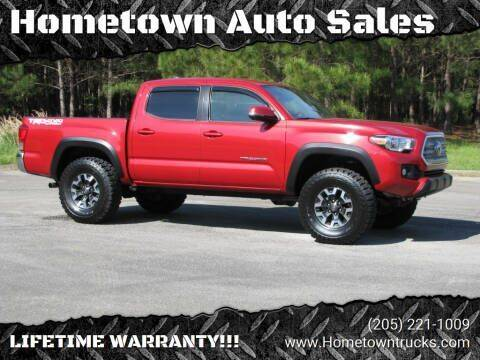 2017 Toyota Tacoma for sale at Hometown Auto Sales - Trucks in Jasper AL
