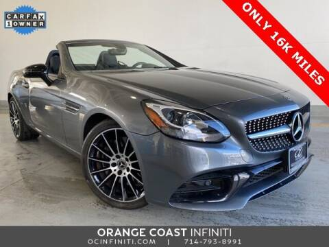 2018 Mercedes-Benz SLC for sale at ORANGE COAST CARS in Westminster CA