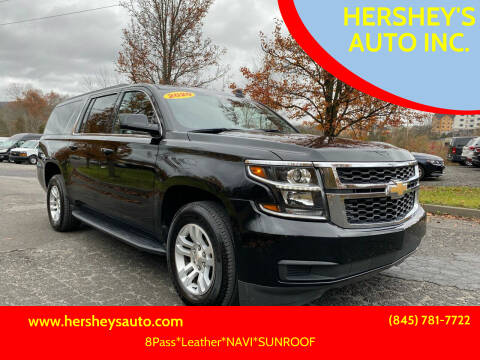 2020 Chevrolet Suburban for sale at HERSHEY'S AUTO INC. in Monroe NY