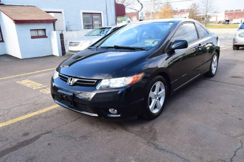 2006 Honda Civic for sale at L&J AUTO SALES in Birdsboro PA