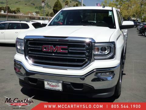 2018 GMC Sierra 1500 for sale at McCarthy Wholesale in San Luis Obispo CA