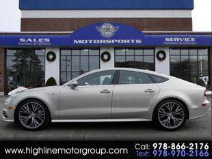 2018 Audi A7 for sale at Highline Group Motorsports in Lowell MA