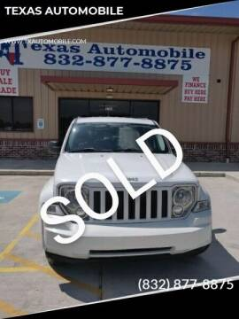 2012 Jeep Liberty for sale at TEXAS AUTOMOBILE in Houston TX