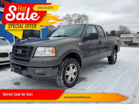 2004 Ford F-150 for sale at Detroit Cash for Cars in Warren MI