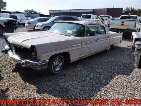 1960 Lincoln Continental for sale at East Coast Auto Source Inc. in Bedford VA