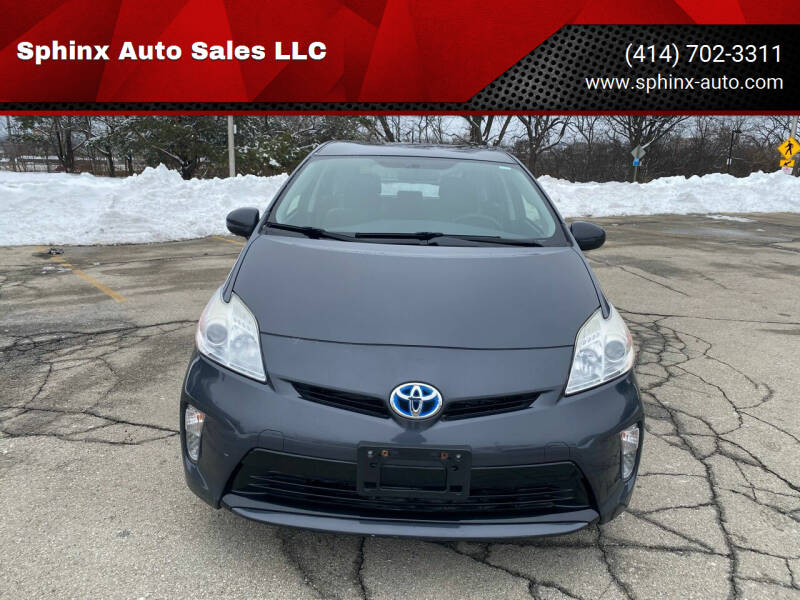 2012 Toyota Prius for sale at Sphinx Auto Sales LLC in Milwaukee WI