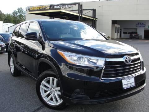 2015 Toyota Highlander for sale at Perfect Auto in Manassas VA