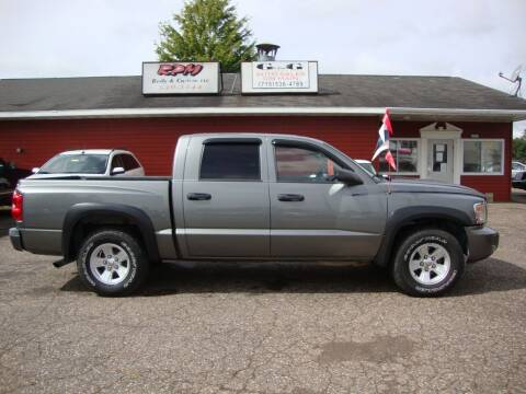 2008 Dodge Dakota for sale at G and G AUTO SALES in Merrill WI