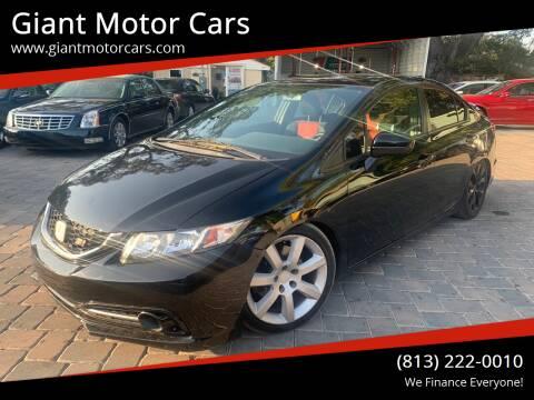 2015 Honda Civic for sale at Giant Motor Cars in Tampa FL